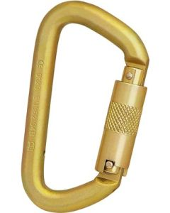 ISC 50kN Offset Steel Super Safe Carabiner