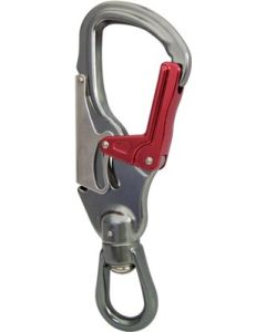 ISC 25kN Aluminum Double Action Swivel Snap Hook