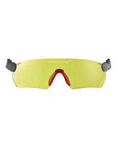 Pfanner Protos Integral Safety Glasses Yellow