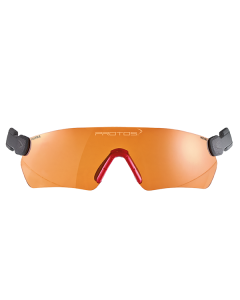 Pfanner Protos Integral Safety Glasses Orange