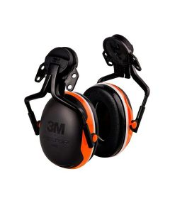 3M Helmet Mounted X4P5E Orange Hearing Protectors