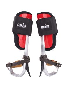 Gecko Aluminum Climbers (Tree Gaffs) with straps