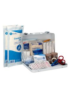 Pac-Kit 25 Person Loggers First Aid Kit, Metal Case