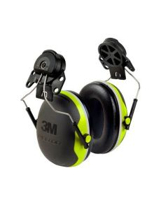 3M Peltor X4 Earmuffs Hardhat attachment