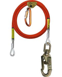 "Climb Right 1/2"" Steel Core Lanyard Kit"