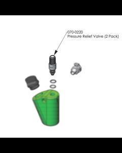 Arborjet Pressure Relief Valve (2 Pack)