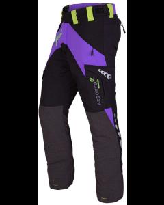 Arbortec Breatheflex Female Chainsaw pants - Purple