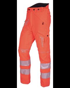 Arbortec Breatheflex Chainsaw pants - Hi-Vis Orange