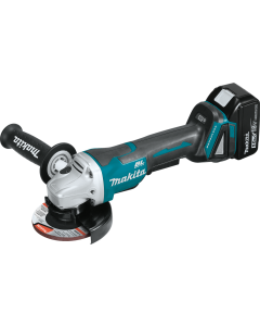 Makita 18V LXT® Lithium‑Ion Angle Grinder Kit