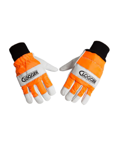 Clogger Leather Chainsaw Gloves