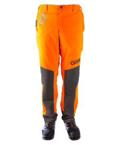 Clogger Spider Trousers - Hi-Vis Orange