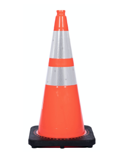 "JBC 28"" Orange Traffic Cone with Reflectors"