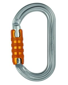 Petzl Ok H-Frame Carabiner, Oval, Triact-Lock