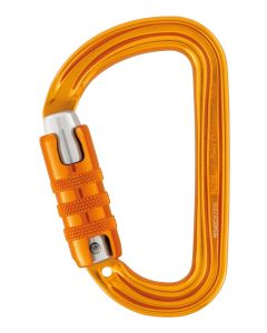 Petzl Sm'D H-Frame Carabiner, With Tethering Hole, Triact-Lock
