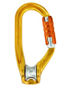 Petzl Rollclip A H-Frame Pulley Carabiner, Triact-Lock