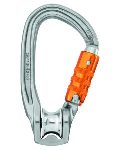 Petzl Rollclip Z H-Frame Pulley Carabiner, Triact-Lock