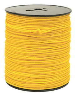 Weaver Yellow Poly Rope, 1/8""