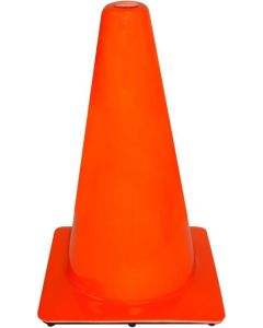 "3M 18"" Orange PVC Non Reflective Traffic Safety Cone"